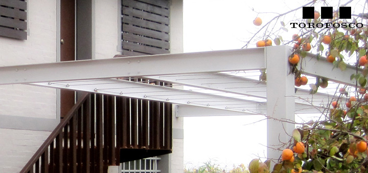 The italian contemporary pergola no.1